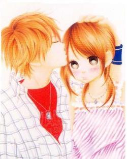 Clipart anime couple