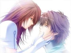 Anime clipart couple