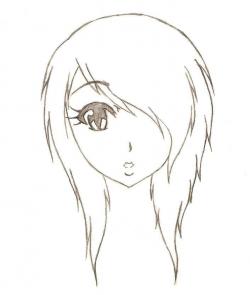 easy anime sketches - Google Search | Art | Pinterest | Anime sketch ...