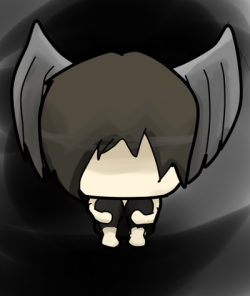 Chibi Fallen angel by TheTurdHeartbeat on DeviantArt