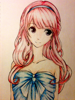 Anime Drawing Girl at GetDrawings.com | Free for personal use Anime ...