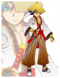 Anime Samurai Swordsman | OpenGameArt.org