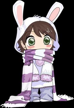 Anime Little Girl Clipart