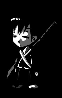 Samurai Anime Clip Art at Clker.com - vector clip art online ...