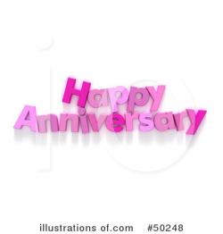 Anniversary Clipart #50248 - Illustration by Frank Boston