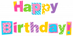 Happy Birthday Clipart Absolutely Design #43302 - Coloring Pages ...