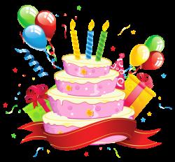 Birthday Cake Transparent Clipart | HB2U | Pinterest | Birthday ...