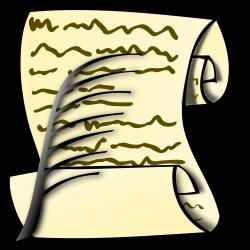 Clipart - Scroll
