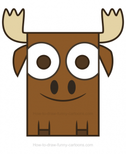 Moose Antlers Drawing at GetDrawings.com | Free for personal use ...