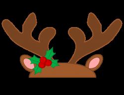 Rudolph Reindeer Antler Clip art - Reindeer png download ...