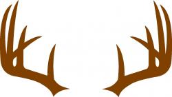Deer Antler Monogram Frame SVG | Cameo Silhouette and SVG files ...