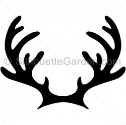 Moose Antler Silhouette at GetDrawings.com | Free for personal use ...