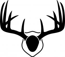 Free Deer Antler Silhouette 6 Antlers Svg | rescuedesk.me