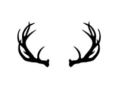 28+ Collection of Reindeer Antlers Clipart Transparent | High ...
