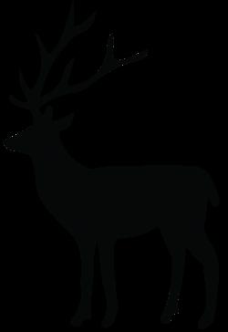 Deer Silhouette PNG Transparent Clip Art Image | Gallery ...