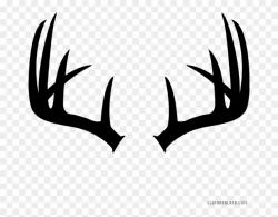Clipart Freeuse Deer Antlers Animal Free - Single Deer ...