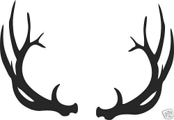 Image result for antler clipart | Cricut Projects | Pinterest ...
