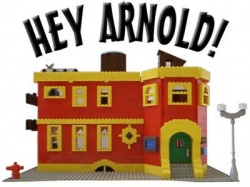 Hey Arnold! Sunset Arms Apartment Building: A LEGO® creation by Eric ...