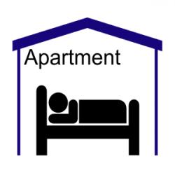 Apartment Symbol (pictogram) clipart, cliparts of Apartment Symbol ...