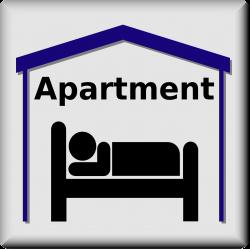 Clipart - Apartment Symbol (pictogram)