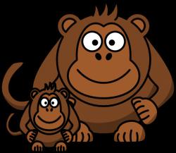 Ape Baby Clip Art at Clker.com - vector clip art online, royalty ...