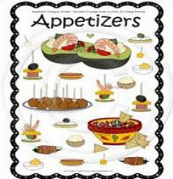 Free Appetizers Clipart
