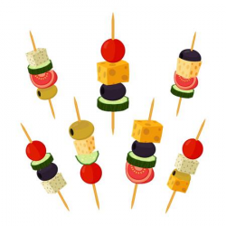 Cartoon Appetizers Cliparts 9 - 450 X 450 - Making-The-Web.com