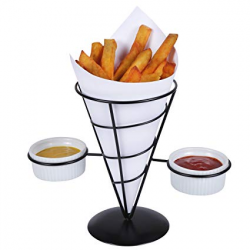 Amazon.com | Creative Home Iron Works French Fry Holder Set with ...
