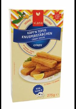 Viana Captain Tofu Crispy Sticks [Fish Fingers] (275g) (12 sticks)