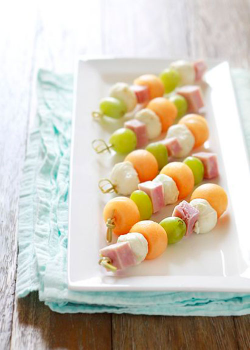 50+ Ideas for Lunch on a Stick | Lunch Kebabs