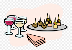 Appetizer Specials During Hh - Hors D Oeuvre Clip Art - Png ...