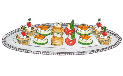 Hors D'Oeuvres Cliparts - Cliparts Zone