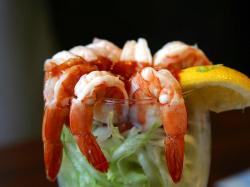 Shrimp Cocktail | Free Stock Photo | Closeup of a shrimp cocktail ...