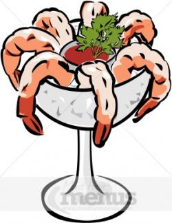 Shrimp Cocktail Clipart | Seafood Clipart