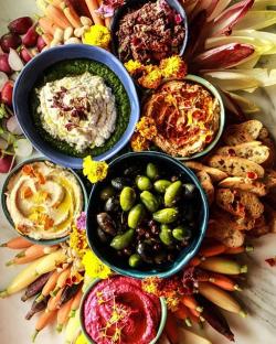 Vegan Appetizer Platter | TheFeedFeed