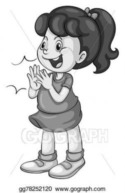 Vector Clipart - Clapping. Vector Illustration gg78252120 - GoGraph