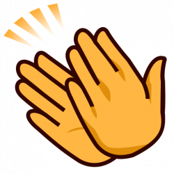Fancy Design Ideas Hands Clapping Clipart Sign Emoji For Facebook ...