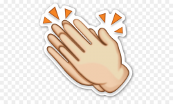 Emoji Sticker Emoticon Clip art - Clap Cliparts png download - 536 ...