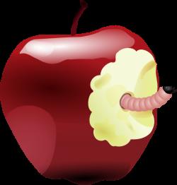 Apple With Worm Clip Art at Clker.com - vector clip art online ...