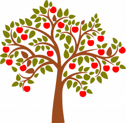 Apple Tree Wall Decal   Apples, Stenciling and Journaling