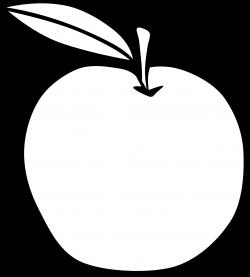 Clipart - Simple Fruit Apple