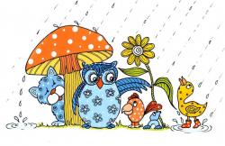 april-showers-clipart – Presbyterian Nursery School