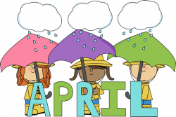 Month of April Showers Clip Art - Month of April Showers Image