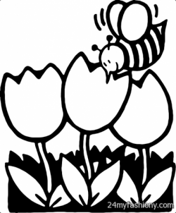 April Clipart Black And White | Letters Format