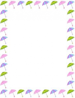 This page border was designed to match my popular birthday chart ...