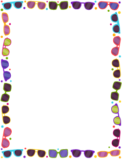 Free Spring Borders: Clip Art, Page Borders, and Vector Graphics