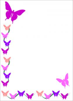 April Border Clipart