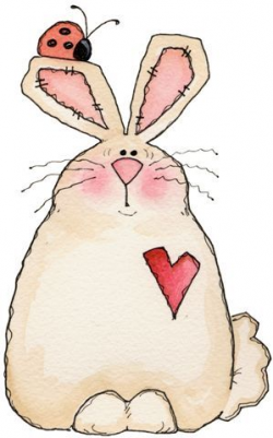 927 best Spring Clip Art and Images images on Pinterest | Bunnies ...