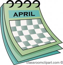 April calendar clip art dromfhi top - Clipartix