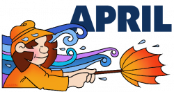 Calendar Clip Art by Phillip Martin, April